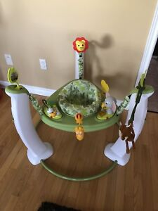 Evenflo safari and friend exersaucer