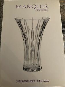 Marquis by Waterford glass/crystal vase