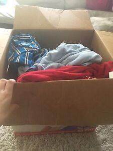 Huge box of boy clothes