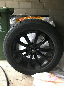 Audi rims and winter tires 235/60R 18