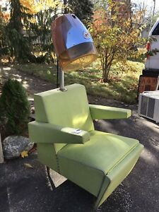 Rayette 77- rare vintage (1950) bee hive hair dryer chair