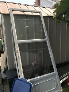 Screen door and frame