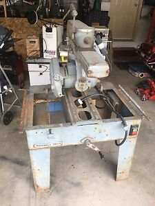 """Rockwell Delta 14"""" Radial Arm Saw"""