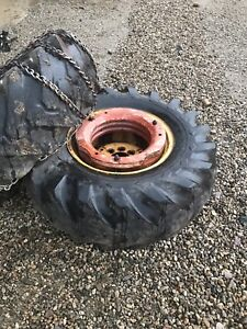 Ford rims with 16.9-24 rubber