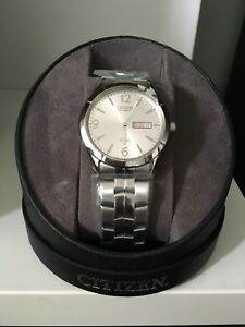 Brand new Citizen stainless steel watch for men