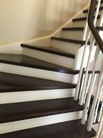 Stairs and handrail you want