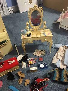 Barbie various items