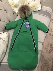 Canada Goose Baby Bunting - 6m to 12m