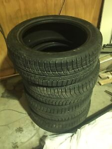 205 50 r17 Michelin Xice snow tires