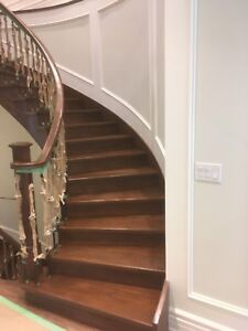 Flooring and stairs installation