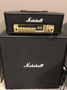 Marshall Code 100 amp head and Code 412 120 watt speaker cabinet