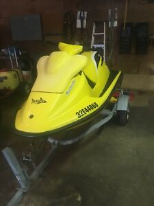 1996 Sea-Doo XP 800 with trailer