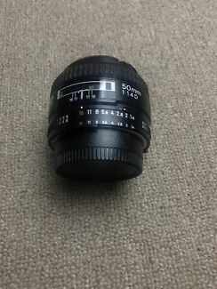Nikon 50mm F1.4D - immaculate condition