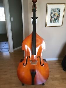 Double bass/upright bass 3/4