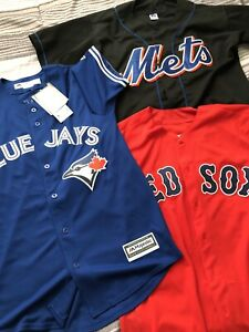 BRAND NEW MAJESTIC AND RUSSELL ATHLETICS MLB BASEBALL JERSEYS