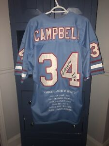 Signed Earl Campbell jersey
