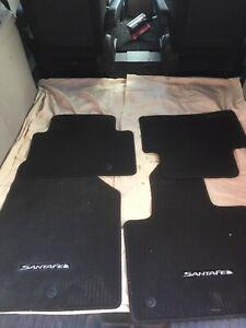 Factory Hyundai Santa Fe Floor Mats - As New