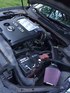 K&N air intake for Nissan Maxima and Altima