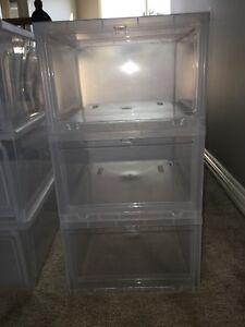 6 drop front boxes