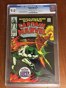 Captain Marvel #2 (CGC Graded 9.0)