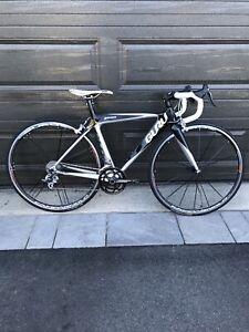 Custom 2010 GURU geneo womens all carbon frame road bike