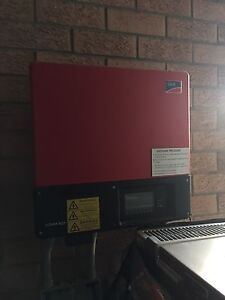 Solar panels and SMA 5kw inverter. (Used) Redwood Park Tea Tree Gully Area Preview