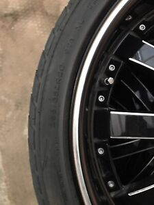 Acura RDX Rims and Tires 235/35 R 20 REDUCED