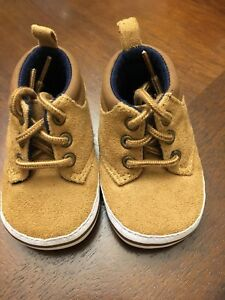 Boys Infant Crib Shoes. Size 1