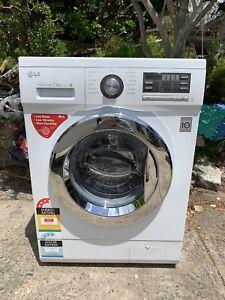 LG 7.5KG direct drive washing machine 1 year old