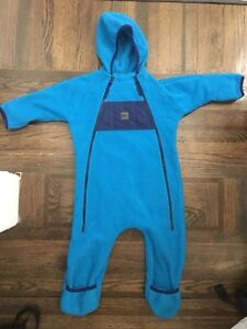 MEC Ursus fleece bunting suit
