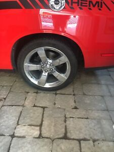 Challenger rims and tires 245/45/20