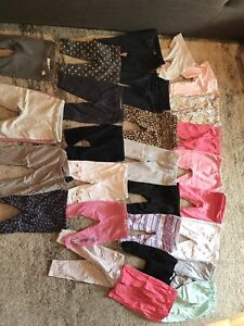 Baby girl pants sized between 6-12 months