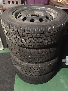 185/65 R14 Winter tires and rims