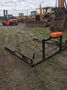 BackRack and steel Rails with plow light