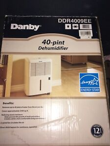 Danby 40 pint dehumidifier