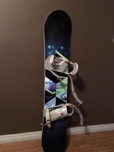 """147"""" firefly snowboard(comes with boots)"""