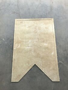 Slo pitch home plate mat