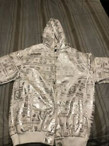 XL Money jacket with hoodie brand new !!