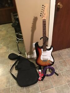 No name guitar starter pkg