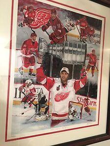 Hockey painting
