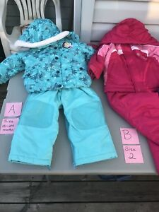 Girls Winter Coats, pants and Snowsuits