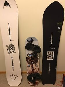 Burton bottom feeder 150W includes L Malavita Bindings.