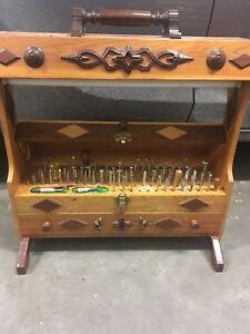 Antique leather tools