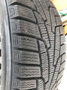 4 Kumho snow tires with Rims
