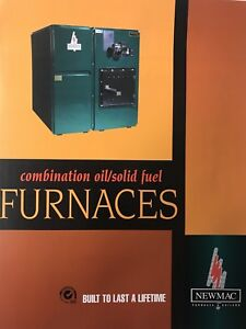 New Mac combination oil/solid fuel furnace