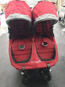 Mini GT double stroller by Baby Jogger