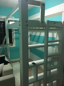 Custom built loft/ bunk beds & tables