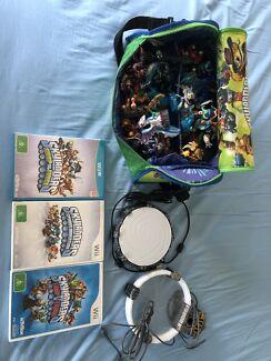 Wanted: Skylanders Wii Games, Portals, Bag,