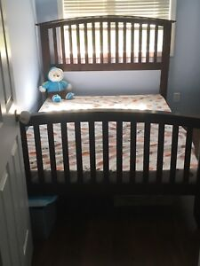 Double bed and frame
