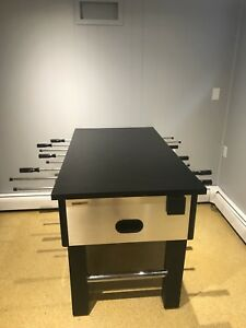 Foosball Table with Custom Build Counter on top